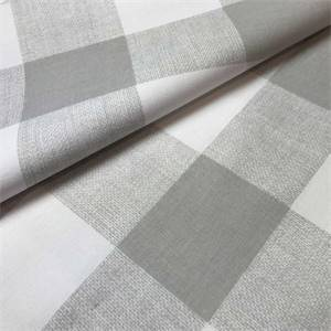 Anderson French Gray Check Drapery Fabric by Premier Prints 30 Yard Bolt