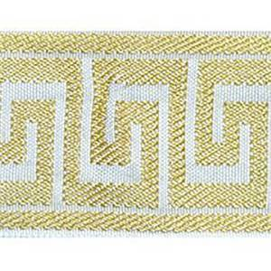 Greek Key Creme Brulee Tape Trim
