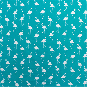 SD Flamingo Jade Turquoise Indoor/Outdoor Upholstery Fabric ...