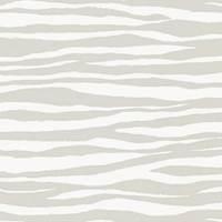 Zebra Basketweave Gray KF Fabric Remnant 2 Yard Piece