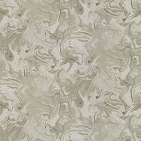 Marble Swirl Silver KF Fabric Remnant 4.1 Yard Piece