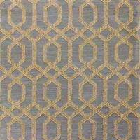 Parquet Silver Sage Geometric Upholstery Fabric