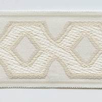 "3"" Entwined Ivory Tape Trim ZN209A 390A"