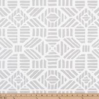 Ribble Luna Silver Drapery Fabric by Premier Prints - 30 Yard Bolt