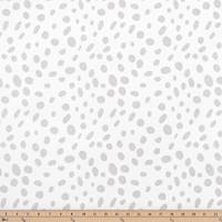 Togo Luna Silver Drapery Fabric by Premier Prints - 30 Yard Bolt