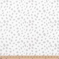 Togo Luna Silver Drapery Fabric by Premier Prints - 30 Yard Bolt