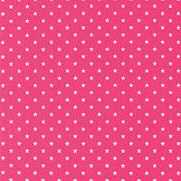 Mini Star Candy Pink White Drapery Fabric by Premier Prints - 30 Yard Bolt