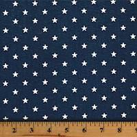 Mini Star Premier Navy Drapery Fabric by Premier Prints - 30 Yard Bolt