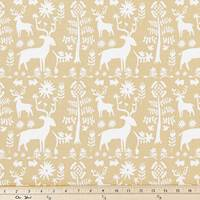 Promise Land Camel Drapery Fabric by Premier Prints - 30 Yard Bolt