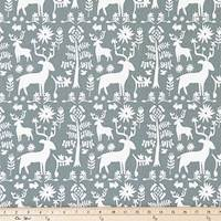 Promise Land Sundown Gray Drapery Fabric by Premier Prints - 30 Yard Bolt