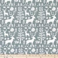 Promise Land Sundown Gray Drapery Fabric by Premier Prints - 30 Yard Bolt