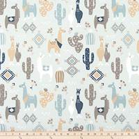 Llama Love Awendela Drapery Fabric by Premier Prints