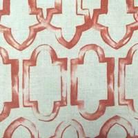Terri Spice Linen Drapery Fabric
