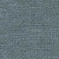 Whitney Glacier Solid Blue Linen Blend Drapery Fabric