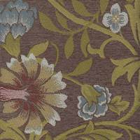 Cornelia Taupe Floral Upholstery Fabric