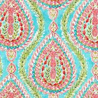Coconut Row Watermelon Drapery Fabric