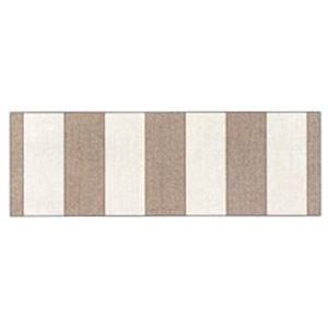 5687 Tobias Taupe Indoor Outdoor Fabric by Famous Maker