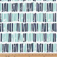 Aspen Vintage Indigo Canal Drapery Fabric by Premier Prints - 10 Yard Bolt