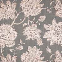Timeless Jacobean Smoke Drapery Fabric