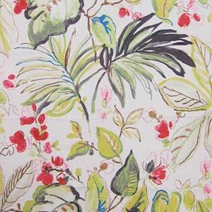 Takara Spring Tropical Print Drapery Fabric 214takspr Buyfabrics Com