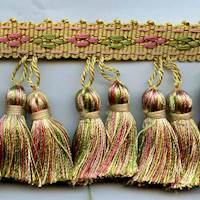 "Spring Mix  3"" D4040-14 Tassel Trim"