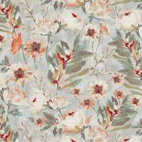Flower Mania Shell Drapery Fabric