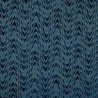 Arrowhead Indigo Blue Upholstery Fabric