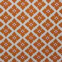 Claremont Tangerine Upholstery Fabric