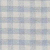 Behoove Rain Blue Check Drapery Fabric