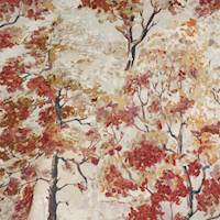 Trembling Aspen Pierside Woodrose Cotton Fabric