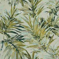Heavenly Seagrass Palm Leaf Drapery Fabric