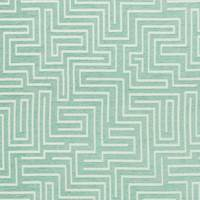 Puzzle Seafoam High Performance Upholstery Fabric by Covington