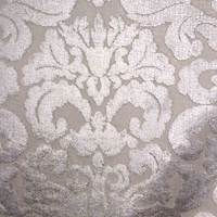 Splurge Ice Raised Damask Drapery Fabric