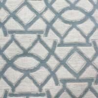 Geometric Design Sky Upholstery Fabric 13SENES