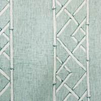 Latticely Mist Drapery Fabric