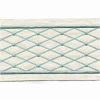 "Ambrosia Spa Green 4"" Tape Trim"