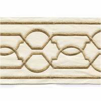 "Maze Gold 4"" Tape Trim"