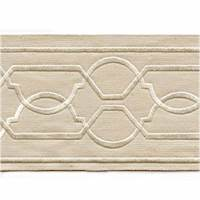 "Maze Cream 4"" Tape Trim"