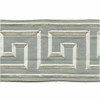 "Felix Cream Greek Key 4"" Tape Trim"