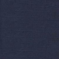 McKenzie Marine Blue Solid Linen-Blend Drapery Fabric