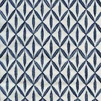 Sadari Royal Blue Embroidered Home Decor Fabric