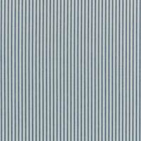 Woven Ticking Denim Blue Drapery Fabric