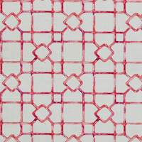 Premium Single Window Width Drapes in Let's Dinah Fruit Punch Pink