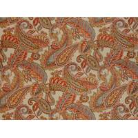 Camden Fiesta 332 Red Paisley Fabric