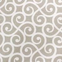Armonk Fog Gray Scroll Fabric by Swavelle Millcreek