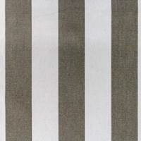 Finnigan Stripe Gray Cotton Fabric by Swavelle Millcreek