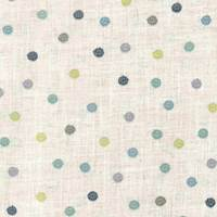 Polka Mineral Embroidered Fabric