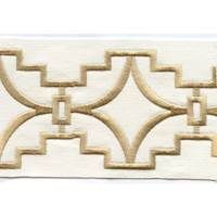 "Perigold Gold 4"" Border Tape Trim"