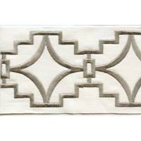 "Perigold Natural 4"" Border Tape Trim"