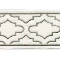 "Coventry Natural 4"" Border Tape Trim"